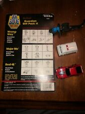 Gobots Gaurdian Gift Pack #1 Wrong-Way, Major-Mo & Rest-Q loose w/card