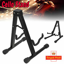 More details for protable folded stand adjustable folding cello stand for 1/8-4/4 cellos band uk