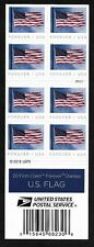 U.S. Flag (Forever) -  2019 Issue - MNH Bkt Pane of 20  Plt # P111
