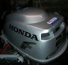 Honda 2.3hp 4 stroke outboard motor serviced with warranty