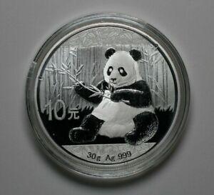 2017 Chinese Silver Panda 30g .999 UNC - 187168A