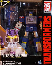 HASBRO® B8358 Transformers Generations Leader Class Soundwave & Soundblaster