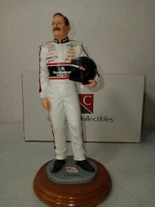Nascar  Dale Earnhardt #3 Character Collectibles 2001 Statue Dale Holding Helmet