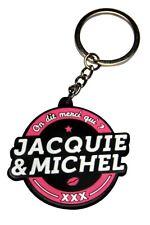 Porte-clés Jacquie et Michel Logo Rond