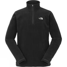 The North Face Mens Cornice 1/4 Zip Fleece Jacket in Black Size XL RRP £50