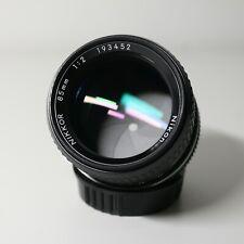 Nikon Nikkor AI 85mm F/2 Portrait Manual Focus Lens