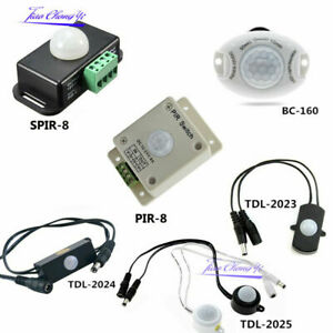 4A/5A/6A/8A Auto PIR Infrared Motion Sensor Detector Switch for LED Strip