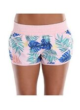 Attraco Floral Print Swim Shorts Ladies Board Shorts Summer Beachwear XXL / UK18