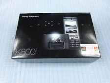 Sony Ericsson k800i negro! nuevo con embalaje original! sin bloqueo SIM! IMEI iguales! rara vez rar!!