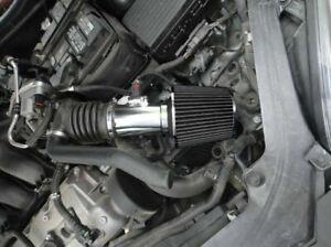 BCP BLACK 2006-2011 Mercury Milan 3.0L V6 Sport Ram Air Intake Kit w/Filter