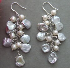 Pearl Earrings Ke091415 13Mm Keshi