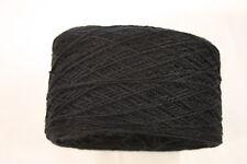 100g balls 70% Merino 30% Acrylic - 4ply Knitting Yarn - Black