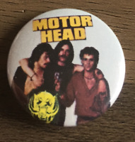 MOTORHEAD  Button Badge -  English Classic Rock / Metal Band - Bomber  25mm  Pin