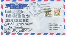 1982 Yukon T-AO 152 Black to Gold McMurdo Deepfreeze Polar Arctic Cover SIGNED