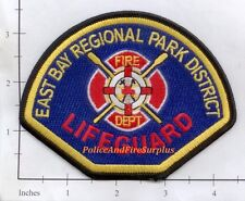 California - East Bay Regional Park District CA Fire Dept Lifeguard Patch