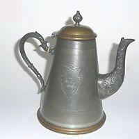 WMF Jugendstil Teekanne Kaffeekanne Kanne 1 Liter von 1888