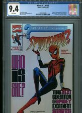 What If... #105   (1st Spider-Girl)   CGC 9.4  WP