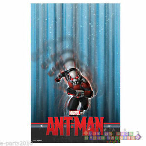 ANT-MAN PLASTIC TABLE COVER ~ Marvel Birthday Party Supplies Decorations Cloth