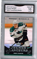 2010 Tommy Wingels Upper Deck Young Guns French Rookie Gem Mint 10 #243