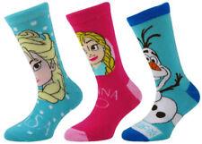 Vêtements socquettes Disney en polyester pour fille de 2 à 16 ans