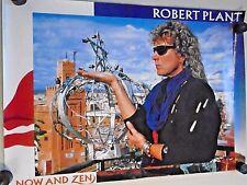 """Robert Plant .Orig. Promo poster - Now & Zen / New cond. 20 x 28"""" Zeppelin"""