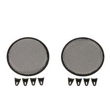 2Piece Treble Speaker Decorative Circle Grill Guard Protector Mesh 10inch