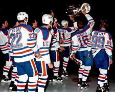 Edmonton Oilers 1985 Stanley Cup Champions 8x10 Photo