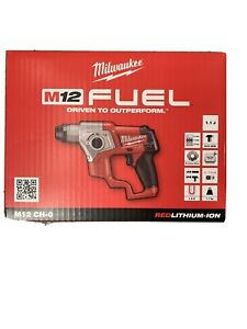 Milwaukee M12 CH-0 Perforateur Sds Plus Brushless 12V Seulement Corps 1.1 J