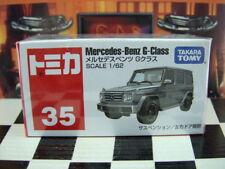 TOMICA #35 MERCEDES-BENZ G-CLASS 1/62 SCALE NEW IN BOX