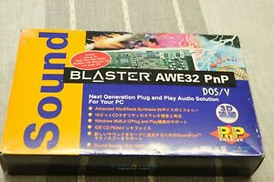 Creative CT3990 Sound Blaster AWE32 ISA PnP Japan Import Complete Box