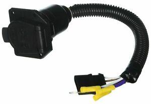 RV Designer P123, Pollack, 4-Way Flat to 7-Way RV Socket Adapter Harness