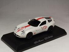 KYOSHO DIECAST CAR ALFA ROMEO COLLECTION 4 TZ3 CORSA WHITE 1/64 JAPAN