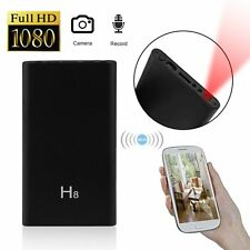 Mini WIFI 1080P HD Spy Hidden IP Camera Power Bank Wireless Video Recorder Cam Y