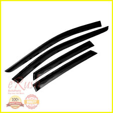 FOR 07-14 FORD EDGE LINCOLN MKX SMOKED WINDOW VISOR SUN DEFLECTOR RAIN SHADE 4PC