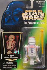 1996 Hasbro Kenner STAR WARS POWER OF THE FORCE r5-d4 Tarjeta Verde Hologram