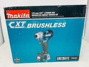 Makita Brushless Impact Driver Kit, DT04R1