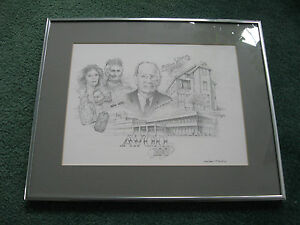 AVON 100 Year Anniversary 1886-1986 McConnell FRAMED LIMITED PRINT by P. Harding