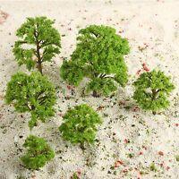 20pcs HO N Z Mixed Scale Banyan Model Trees Train Railway Garden Wargame Scenery