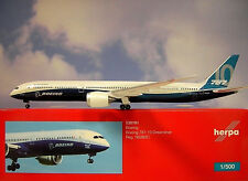Herpa Wings 1:500 Boeing 787-10 Boeing housecolor n528zc 530781 modellairport500