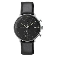 NEW Junghans Max Bill Chronoscope Men's Automatic Watch - 027/4601.00