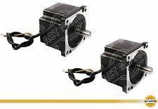 Act motor GmbH 3pcs nema 34 stepper motor 34hs9820 8 leads 4 fase 2a 100mm 6.3nm