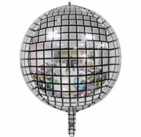 1pc 22inch 4D Disco Ball Ballons Metallic Ballon Party Wedding Birthday Decor
