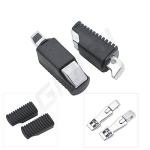 Pair Rear Passenger Footrest Footpegs Pedals For BMW F800GS F750GS F850GS