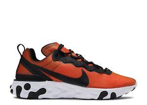 Nike React Element 55 PRM Sunrise (Men's 11.5 & 13) Red Orange Black BQ9241-001
