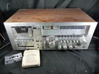 vintage YORX (M2601) AM/FM RECEIVER, CASSETTE RECORD PLAYER~8 TRACK~rare *READ*