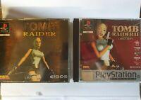 Tomb Raider 1 & 2 PS1