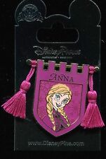 Princess Tapestry Anna Frozen Banner Tassel Disney Pin 121320