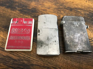 Vintage Lighters And Accessories By Michelin, Orens And Ronson