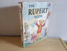 RUPERT ANNUAL 1941 original book  -