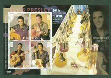 Niue 2007 - Elvis Presley - 50 Jahre Graceland Mansion - Gitarre - Music 1086-89